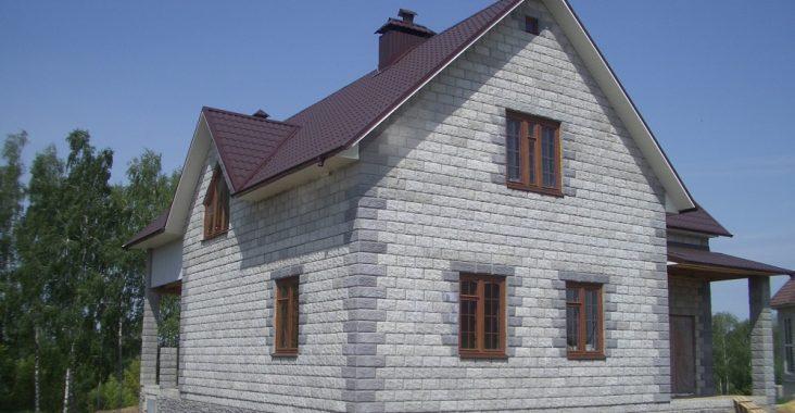Дом из блоков
