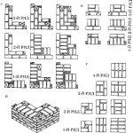 Схема укладки кирпичной стены для бани