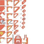 Схема угловой кирпичной кладки