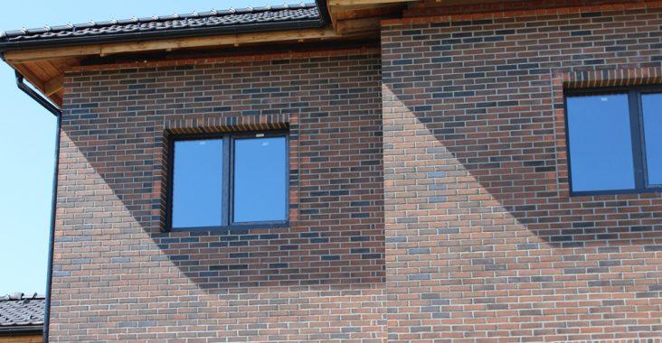 Баварская кладка при облицовке стен дома