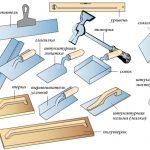 Инструменты для ремонта печи