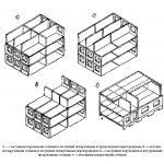 Конструктивные схемы бескаркасных крупнопанельных домов