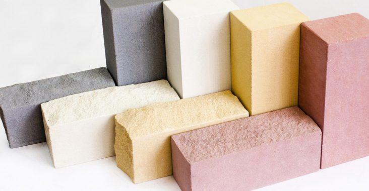 Облицовочные силикатные кирпичи