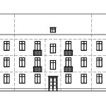Схема сталинского дома
