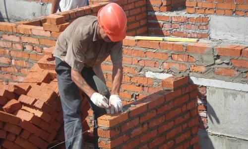 Строительство кирпичных стен