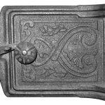 Классическая чугунная дверца