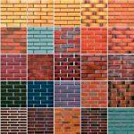 Цветовая палитра декоративных кирпичей