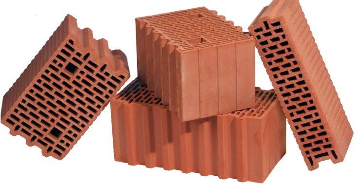 Керамические кирпичи для строительства