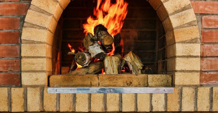 Кирпичная печь для деревянного дома