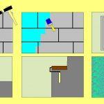 Схема штукатурки стен