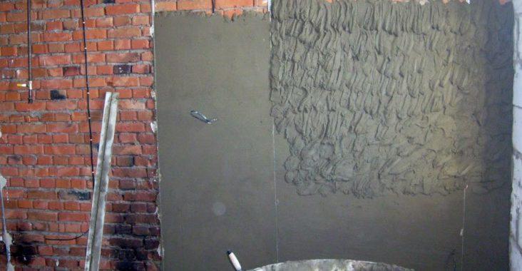 Чем штукатурить кирпичные стены внутри дома